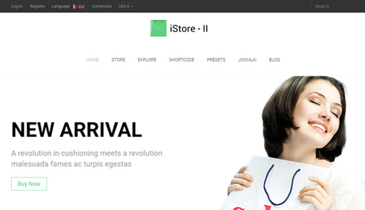 Multi-Purpose eCommerce Virtuemart Template