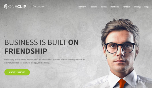 Multipurpose One Page Responsive Joomla Template